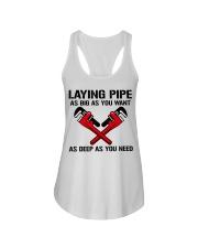 Laying Pipe Plumber Ladies Flowy Tank tile