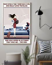 Girl Loved Travelling Born In October 24x36 Poster lifestyle-poster-1