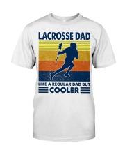 Lacrosse Dad Like A Regular Dad But Cooler Classic T-Shirt tile