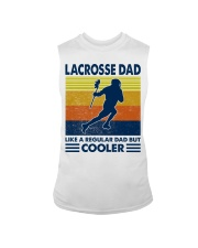 Lacrosse Dad Like A Regular Dad But Cooler Sleeveless Tee thumbnail