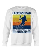 Lacrosse Dad Like A Regular Dad But Cooler Crewneck Sweatshirt thumbnail