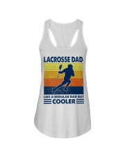 Lacrosse Dad Like A Regular Dad But Cooler Ladies Flowy Tank thumbnail