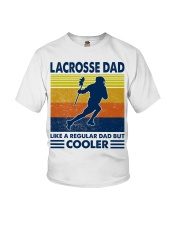 Lacrosse Dad Like A Regular Dad But Cooler Youth T-Shirt thumbnail