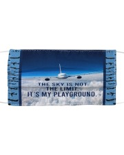 Flight Attendant-The Sky Is Not The Limit Mask tile
