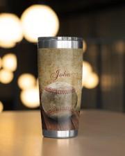 Baseball Pitching Personalized Christmas Gift 20oz Tumbler aos-20oz-tumbler-lifestyle-front-04