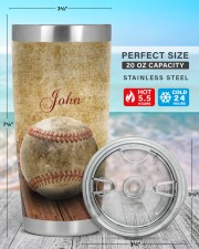 Baseball Pitching Personalized Christmas Gift 20oz Tumbler aos-20oz-tumbler-lifestyle-front-47