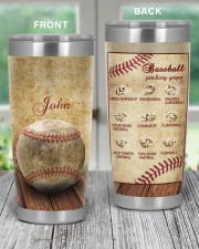 Baseball Pitching Personalized Christmas Gift 20oz Tumbler aos-20oz-tumbler-lifestyle-front-59