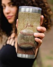 Baseball Pitching Personalized Christmas Gift 20oz Tumbler aos-20oz-tumbler-lifestyle-front-93