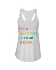 It's A Good Day To Read A Book Ladies Flowy Tank thumbnail