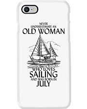 Never Underestimate Old Woman Sailing July Phone Case thumbnail