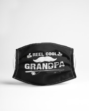 Fishing grandpa shirt funny dad fathers day  Cloth face mask aos-face-mask-lifestyle-22