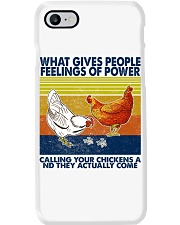 Chicken What Gives People Feeling Of Power Phone Case thumbnail