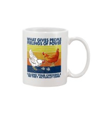 Chicken What Gives People Feeling Of Power Mug thumbnail