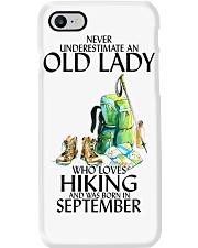 Never Underestimate Old Man Hiking September Phone Case thumbnail