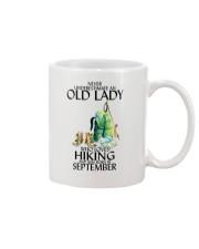 Never Underestimate Old Man Hiking September Mug thumbnail
