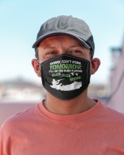 Hunter too busy playing duck duck goose hunting  Cloth face mask aos-face-mask-lifestyle-06
