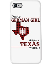 Just A German Girl In Texas World Phone Case thumbnail
