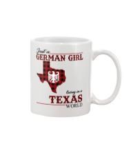 Just A German Girl In Texas World Mug thumbnail