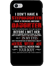 I Don't Have A Stepdaughter Phone Case tile