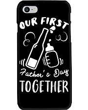 Our First Father's Day Together Phone Case tile