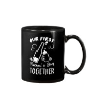 Our First Father's Day Together Mug tile