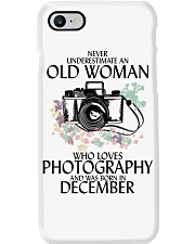 Old Woman Photography December Phone Case thumbnail
