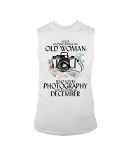 Old Woman Photography December Sleeveless Tee thumbnail