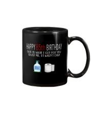 85 th Birthday 85 Year Old Mug tile