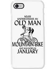 Never Underestimate Old Man Mountain Bike January Phone Case thumbnail