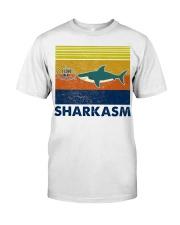 Sharkasm I Love Salad Classic T-Shirt front