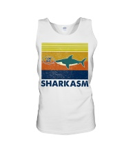Sharkasm I Love Salad Unisex Tank thumbnail