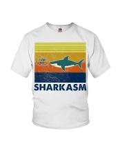 Sharkasm I Love Salad Youth T-Shirt thumbnail