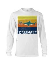 Sharkasm I Love Salad Long Sleeve Tee thumbnail