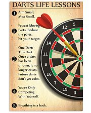 Darts Life Lessons 24x36 Poster front