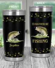 I'd rather be fishing personalized Christmas Gift 20oz Tumbler aos-20oz-tumbler-lifestyle-front-59