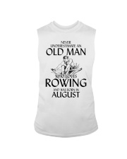 An Old Man Who Loves Rowing And Was Born August Sleeveless Tee thumbnail