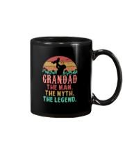 Grandad The man The Myth Mug tile