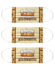 Will Remove For Bourbon Cloth Face Mask - 3 Pack front