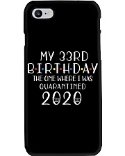 My 33rd Birthday The One Where I Was 33 years old  Phone Case thumbnail