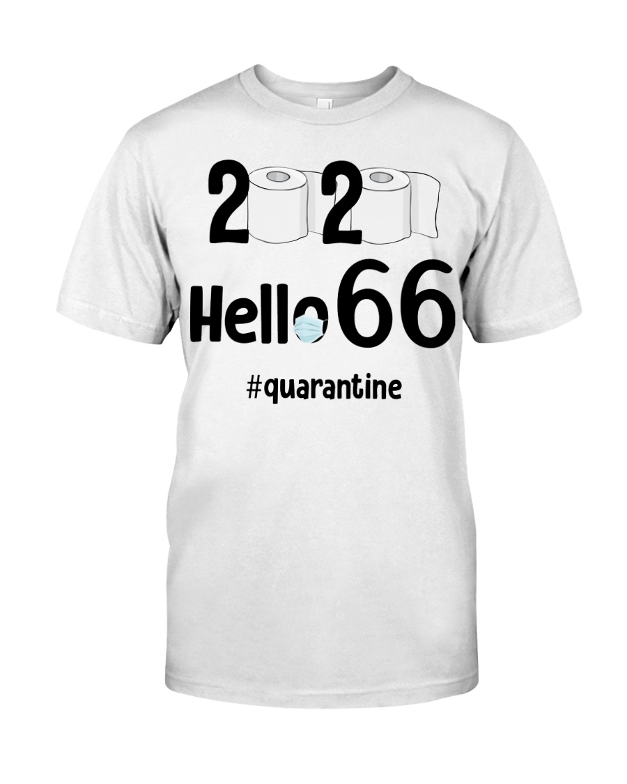 66th Birthday 66 Years Old Classic T-Shirt