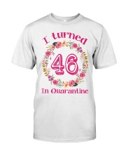 46th Birthday 46 Years Old Classic T-Shirt front