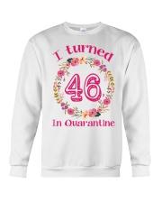 46th Birthday 46 Years Old Crewneck Sweatshirt thumbnail