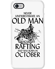 Old Man Loves Rafting October Phone Case thumbnail