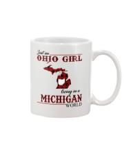Just An Ohio Girl In Michigan World Mug thumbnail