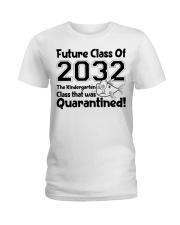 Kindergarten Future Class Of 2032 Ladies T-Shirt thumbnail