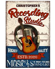 Recording studio Music Is What Personalized 16x24 Poster front