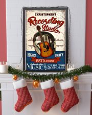 Recording studio Music Is What Personalized 16x24 Poster lifestyle-holiday-poster-4