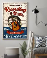 Recording studio Music Is What Personalized 16x24 Poster lifestyle-poster-1
