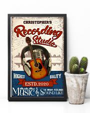 Recording studio Music Is What Personalized 16x24 Poster lifestyle-poster-8