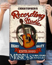 Recording studio Music Is What Personalized 16x24 Poster poster-portrait-16x24-lifestyle-19